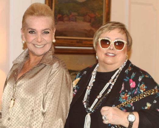 Vera Bangel e Maria Isabel Andrade