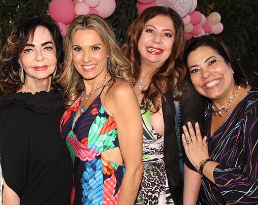 Vera Loyola, Adriana Alves, Kristhel Byancco e Claudia Cury