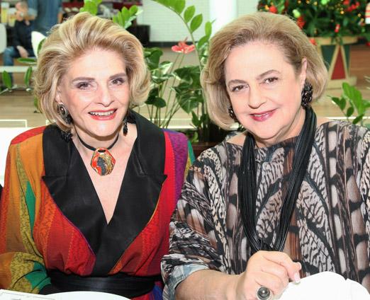 A juíza Maria Vitória e Cristina Aboim