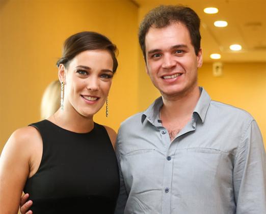 Adriana Birolli e Alexandre Contini