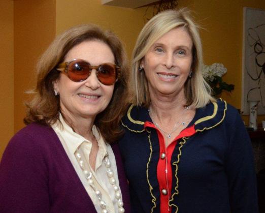 Alice Medici e Márcia Lebelson