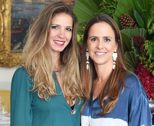 Aline Araújo e Lili Tzirulnik