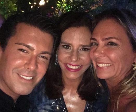 André Ramos, Narcisa Tamborindeguy e Márcia Veríssimo