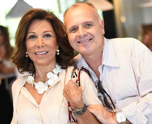Anna Luiza Rothier e Chico Vartulli