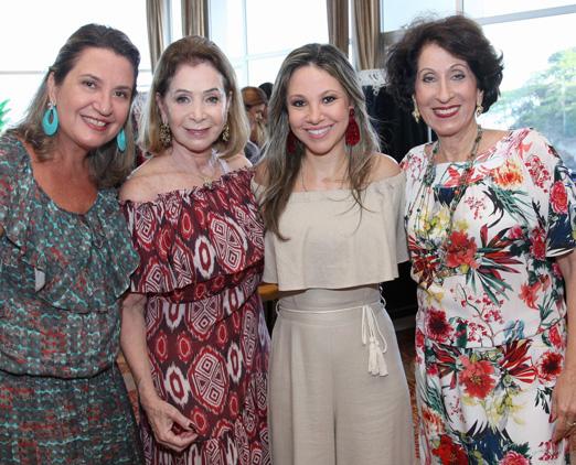 Anthonella Secchin, Regina Valle, Alessandra Amaral e Rosemary Helal Suaid