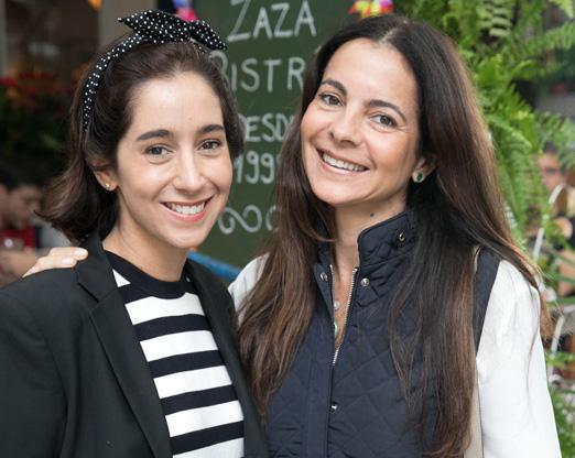 Antonia Leite Barbosa e Isabela Menezes