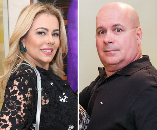 Ariadne Coelho e Eder Meneghine