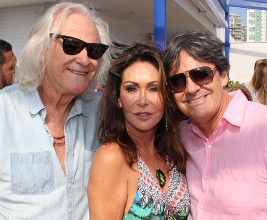 Armando Fernandez, Beth Andrade e Marquinho Medeiros