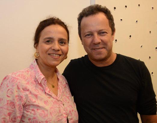 Beatriz Milhazes e Vik Muniz