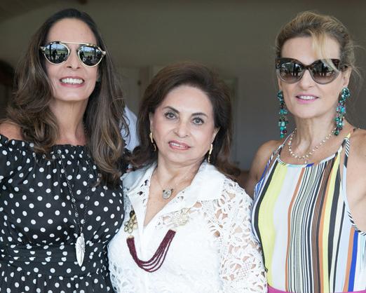 Bel Caram, Cleuba Verri e Teresa Simões