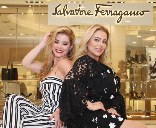 Bianca Marques e Ariadne Coelho