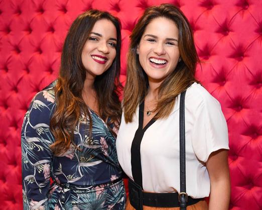 Carina Arruda e Laila Coelho