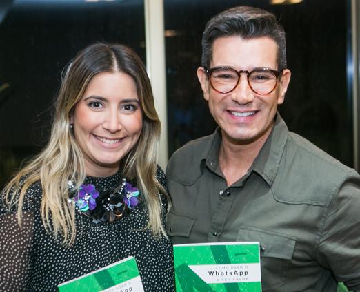 Carol Hungria e Marcelo Hicho