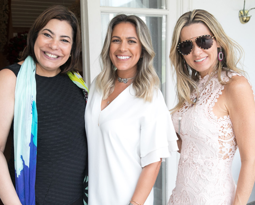 Claudia Cury, Bia Bottini e Adriana Alves