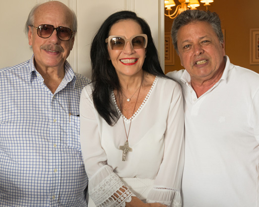 Claudio Aboim, Liliana Rodriguez e Aloysito Teixeira