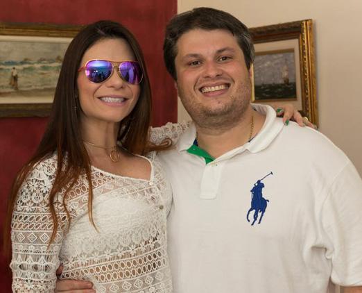 Claudio André de Castro e sua Bruna