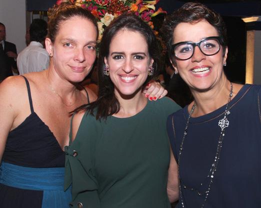 Cleo Guimarães, Paula Bezerra de Mello e Monique Benoliel