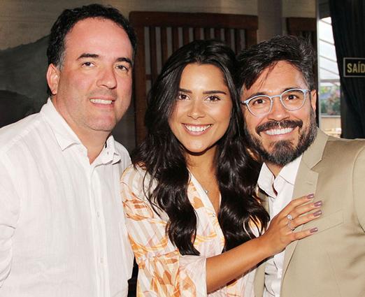 Cristiano Fonseca, Yasmin Miranda e Voriques de Oliveira