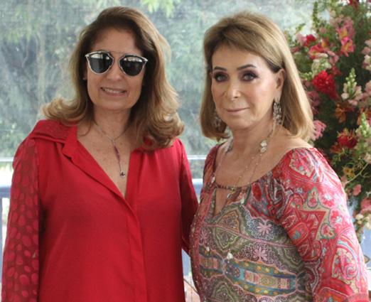 Cristina Lips e Regina Valle