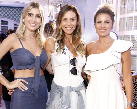 Dandynha Barbosa, Karina Nunes e Ana Paula Barbosa