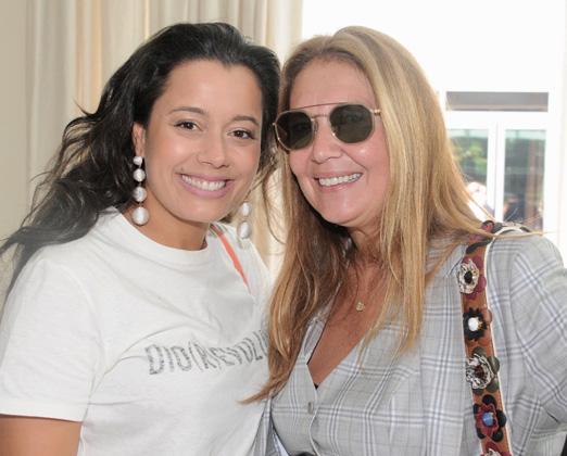 Daniela Filomeno Seripieri e Donata Meirelles