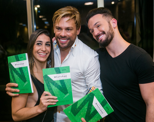 Daniele Hypolito, Bruno Chateaubriand e Diego Hypolito