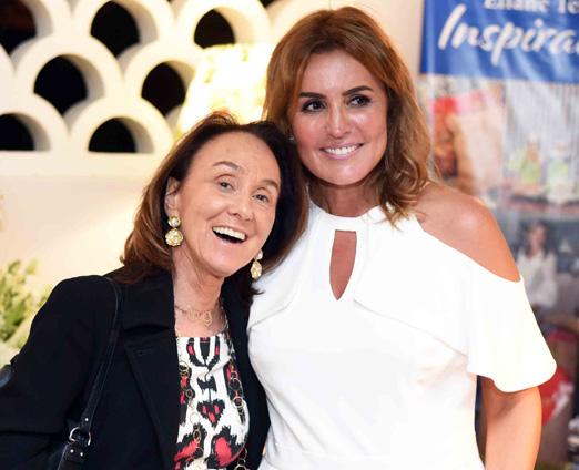 Debora Sauer e Eliane Teixeira