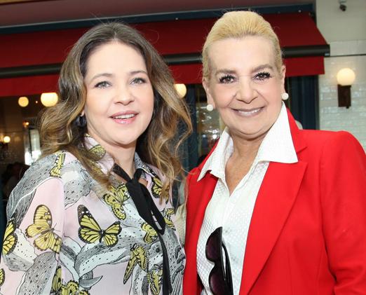Denise Barcelos e Vera Bangel