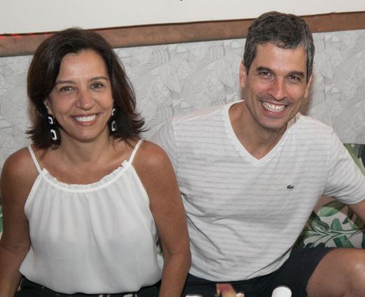 Denise Tanure e Celso Alvim