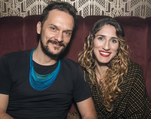Emerson Villani e Laura Pirlo
