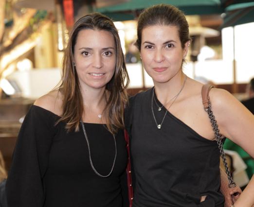 Fabiana Ricco e Camila Abdalla