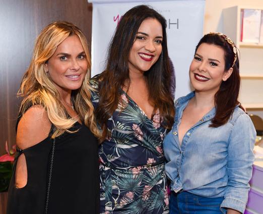 Fernanda Barbosa, Carina Arruda e Fernanda Souza