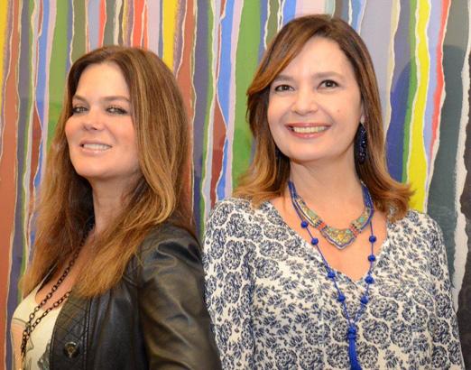 Flávia Curvello e Alice Barbosa Lima