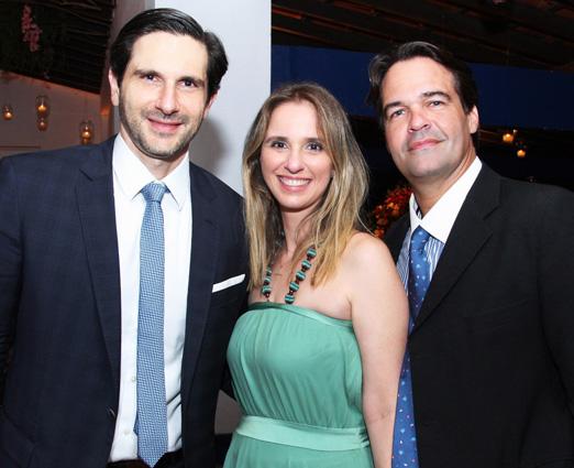 Frederic Kachar, Ana Carolina e Miguel Sá