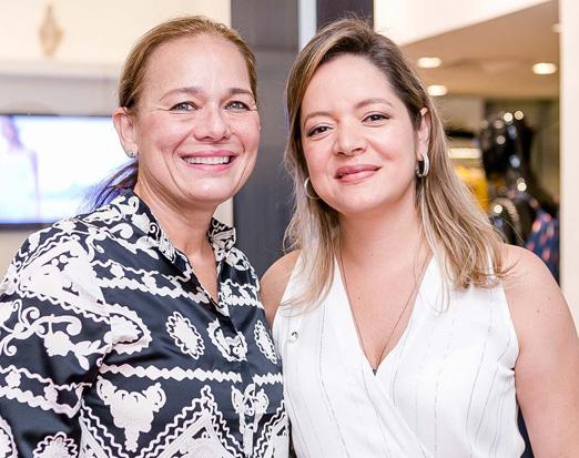 Frederica Bastian Pinto e Bianca Gibbon