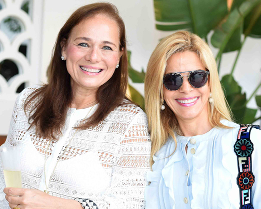 Frederica Bastian Pinto e Manoela Ferrari