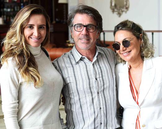 Gabriela Eloy, Jairo de Sender e Marcia Muller