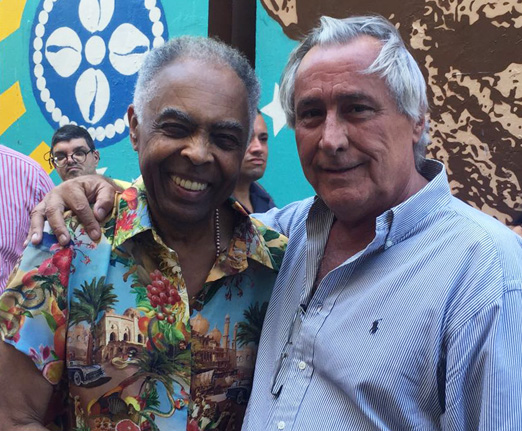 Gilberto Gil e Leleco Barbosa