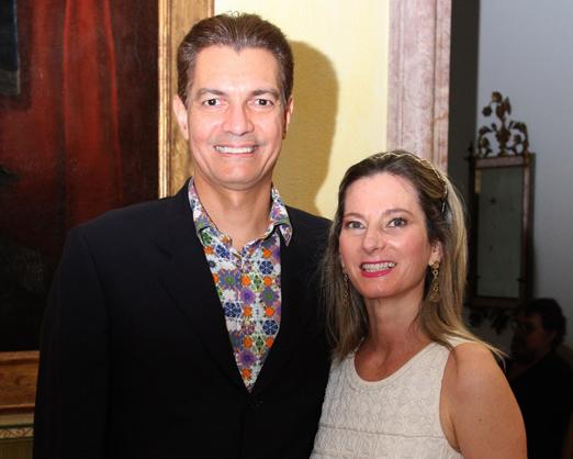 Gilson Araújo e Dara Chapman