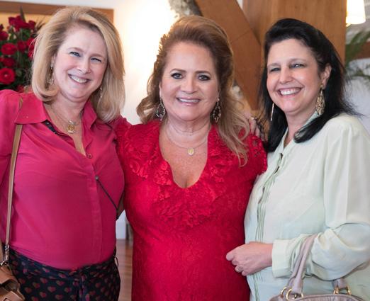Glória Severiano Ribeiro, Renata Fraga e Clara Magalhães
