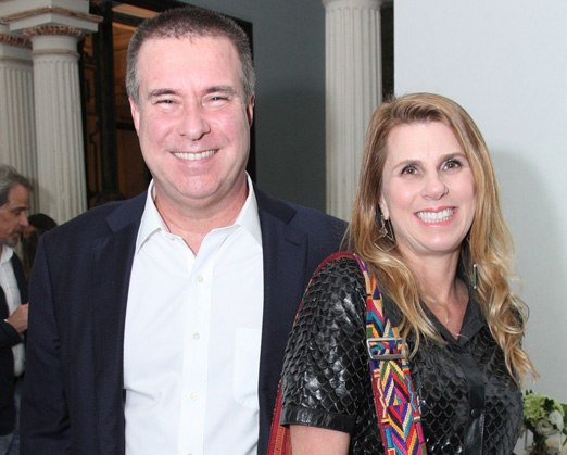 Gustavo Brigagão e Danielle Calirman