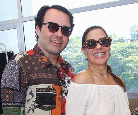 Gustavo Gonçalves e Alice Tamborindeguy