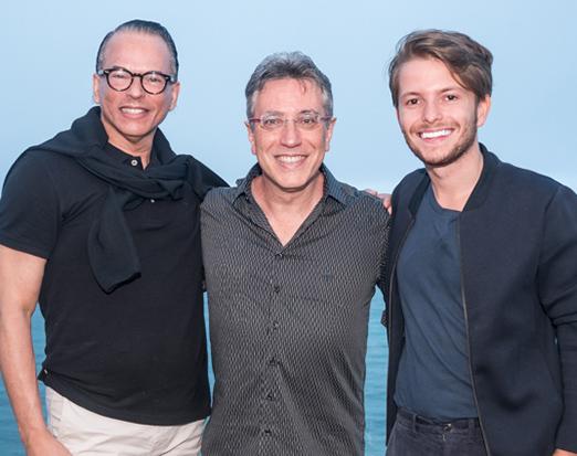 Heckel Verri, Henrique Vieira Filho e Victor Niskier