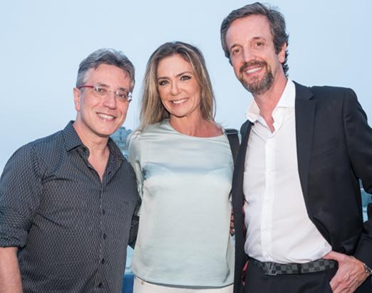 Henrique Vieira Filho, Márcia Veríssimo e Alexis de Vaulx