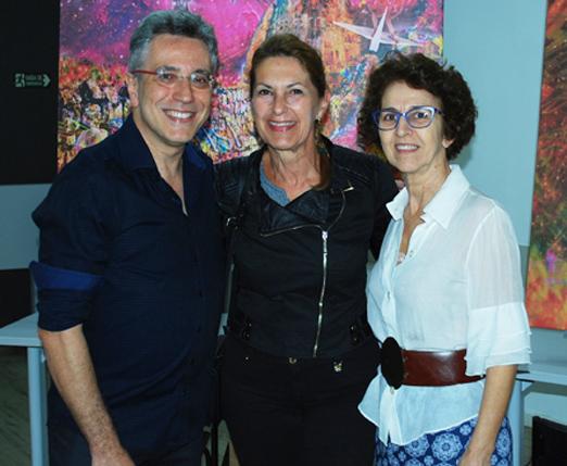 Henrique Vieira Filho, Mara Cruz e Maria Goretti Silva