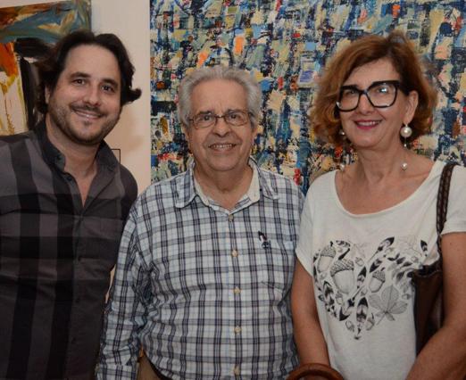Horácio Ernani, Jorge Colaço e Dany Ballin