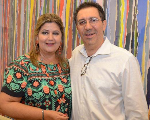 Janete e Arthur Sendas