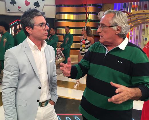 João Kléber e Leleco Barbosa