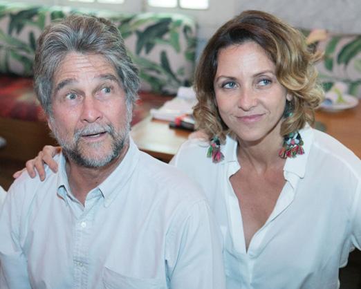 João de Orleans e Bragança e Claudia Merli