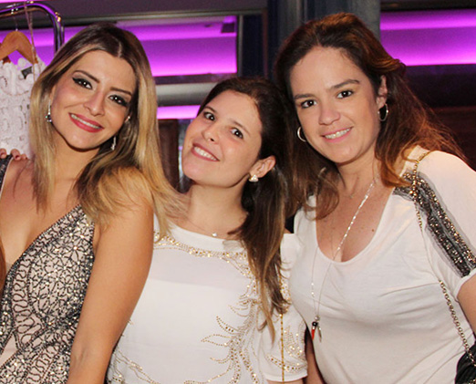 Julia Manhaes, Camila Goes e Paula Chimelli